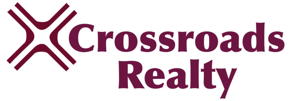 Logo: Crossroads Realty, CVCJ Partner in Caring