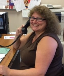 Photo: Annmarie, our Outreach Manager in Monmouth County