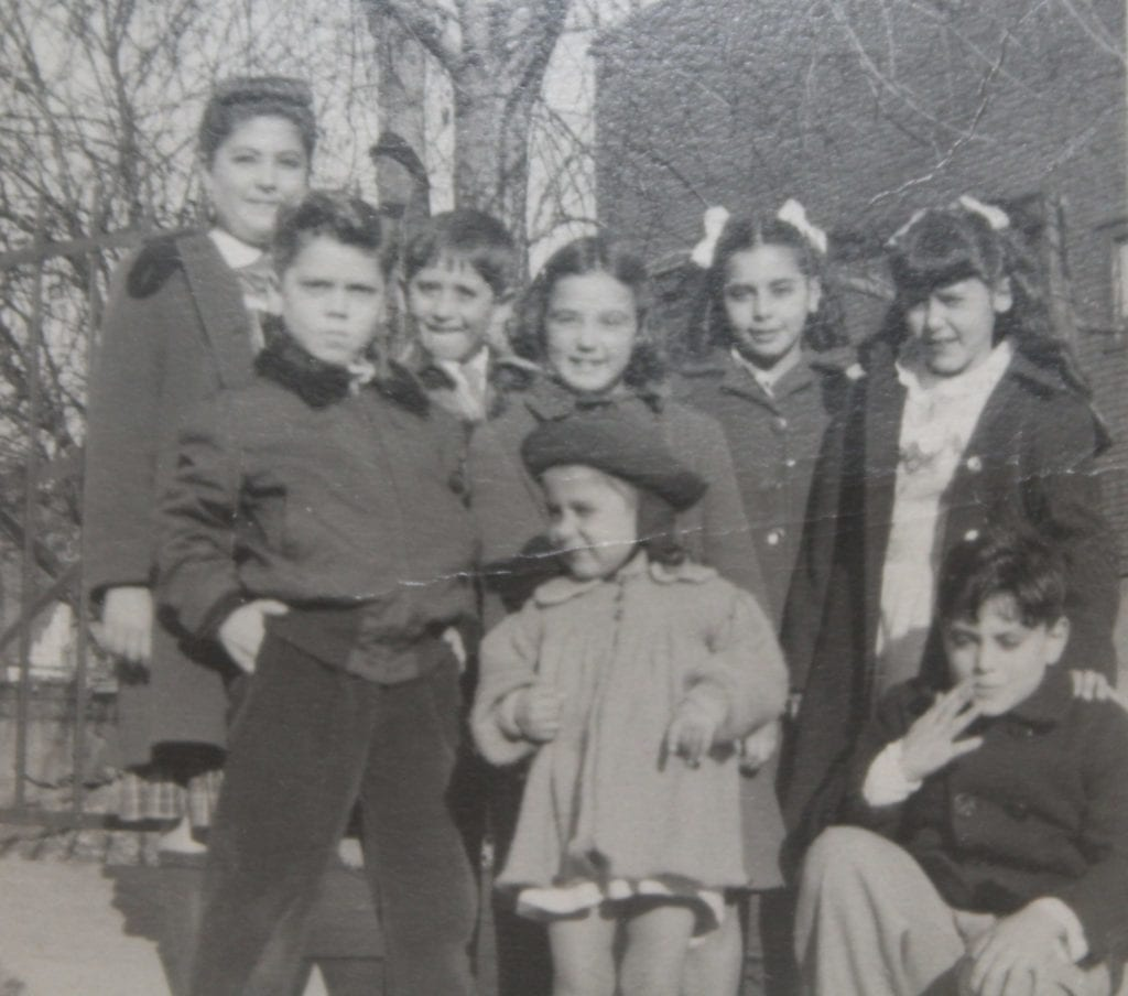 RoseAnn, far right, with her hand on Ralph's shoulder