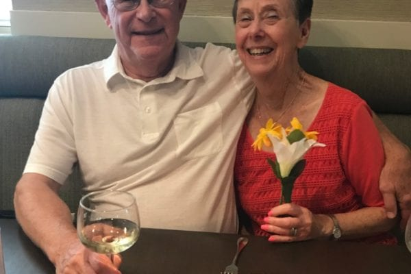 Catherine and Bob Lauten – Mutual friends lead to a life together