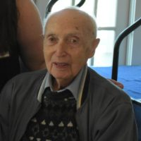 Henry Carlen - WWII Veteran and Care Receiver