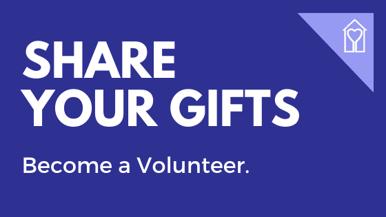 Share your gifts. Become a Caregiver Volunteer.