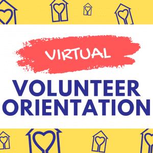 Virtual Volunteer Orientation Caregiver Volunteers of Central Jersey