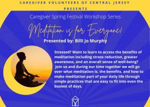 Meditation Workshop with Billi Jo Murphy