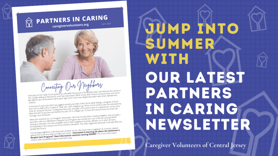 Jump in to Summer with our latest Partners in Caring Newsletter.