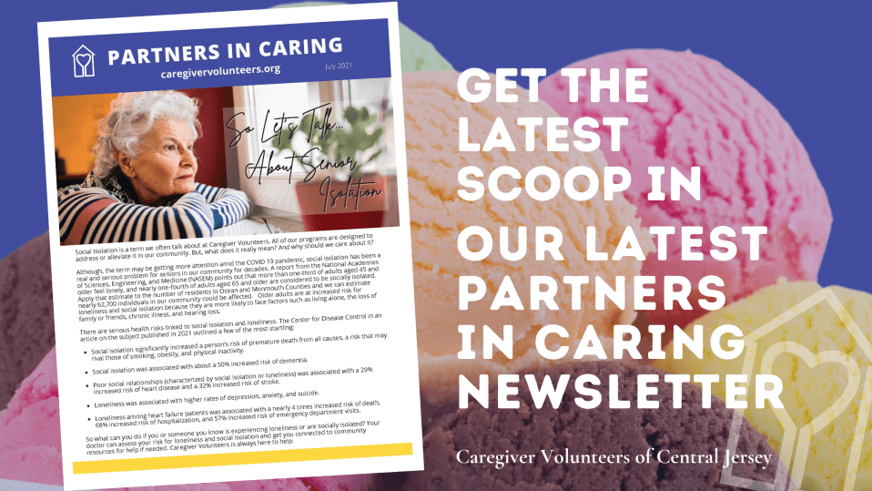 Get the Latest Scoop in our latest Partners in Caring Newsletter