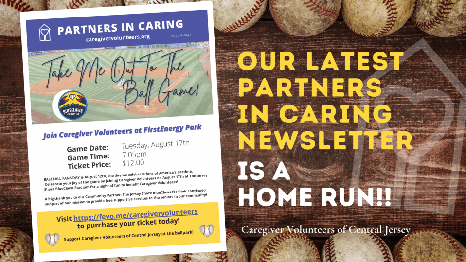 Our latest Partners in Caring Newsletter is a home run!!!